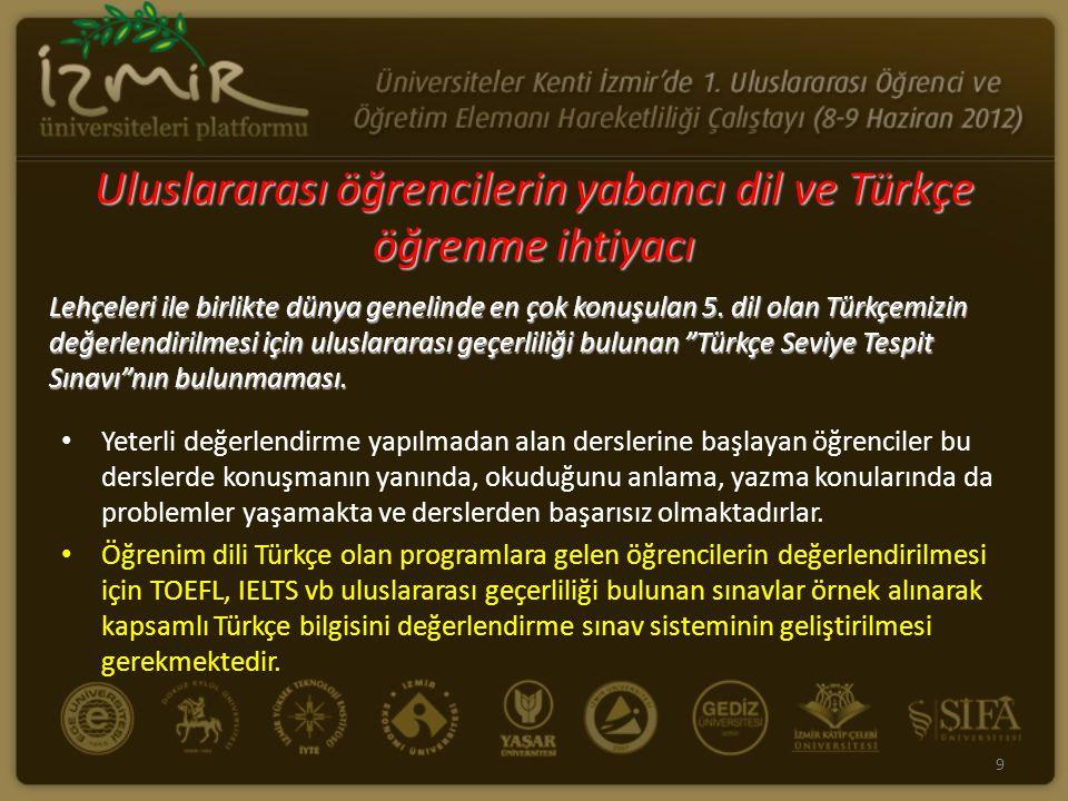 """Lehçeleri ile birlikte dünya genelinde en çok konuşulan 5. dil olan Türkçemizin değerlendirilmesi için uluslararası geçerliliği bulunan """"Türkçe Seviye"""