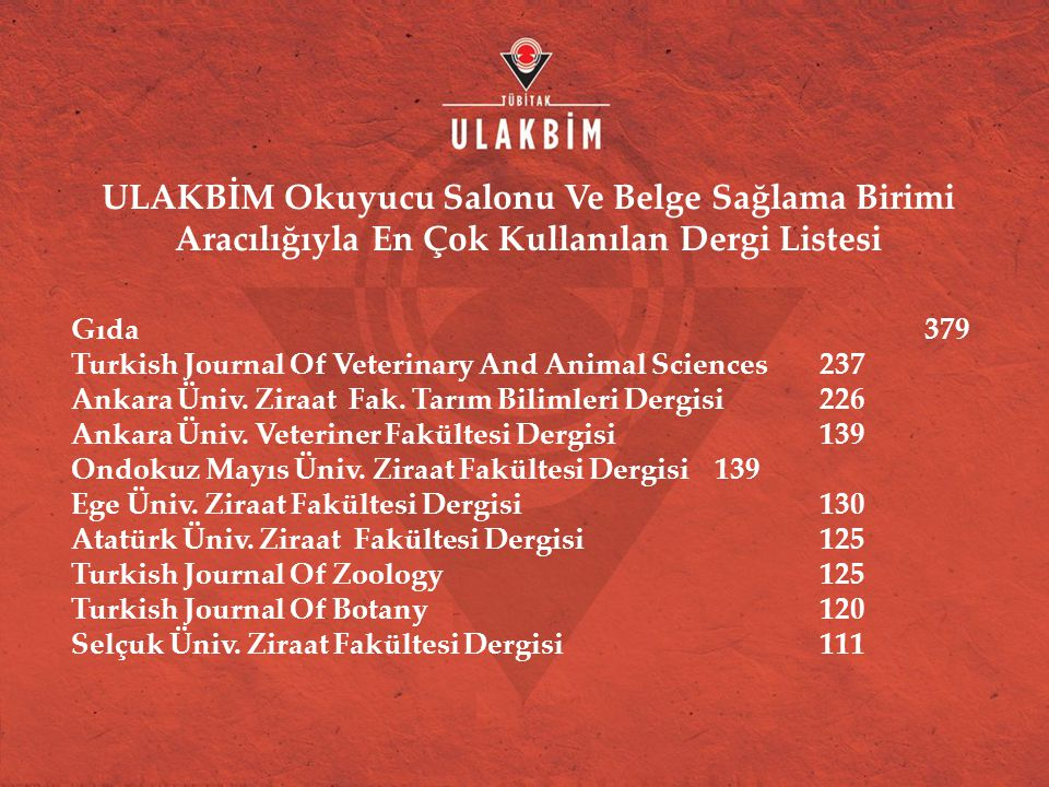 Gıda 379 Turkish Journal Of Veterinary And Animal Sciences 237 Ankara Üniv.