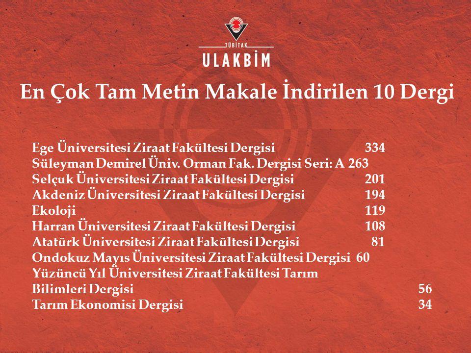 Ege Üniversitesi Ziraat Fakültesi Dergisi 334 Süleyman Demirel Üniv.