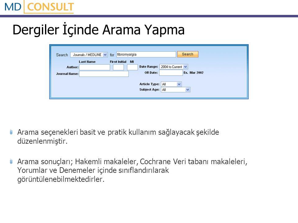 Çıktı Alma MD Consult veri tabanı içerisinde; tüm metin sayfalarında çıktı alma özelliği Baskı-önizleme yapma Önizleme sayfasından çıktı alma seçenekleri bulunmaktadır.