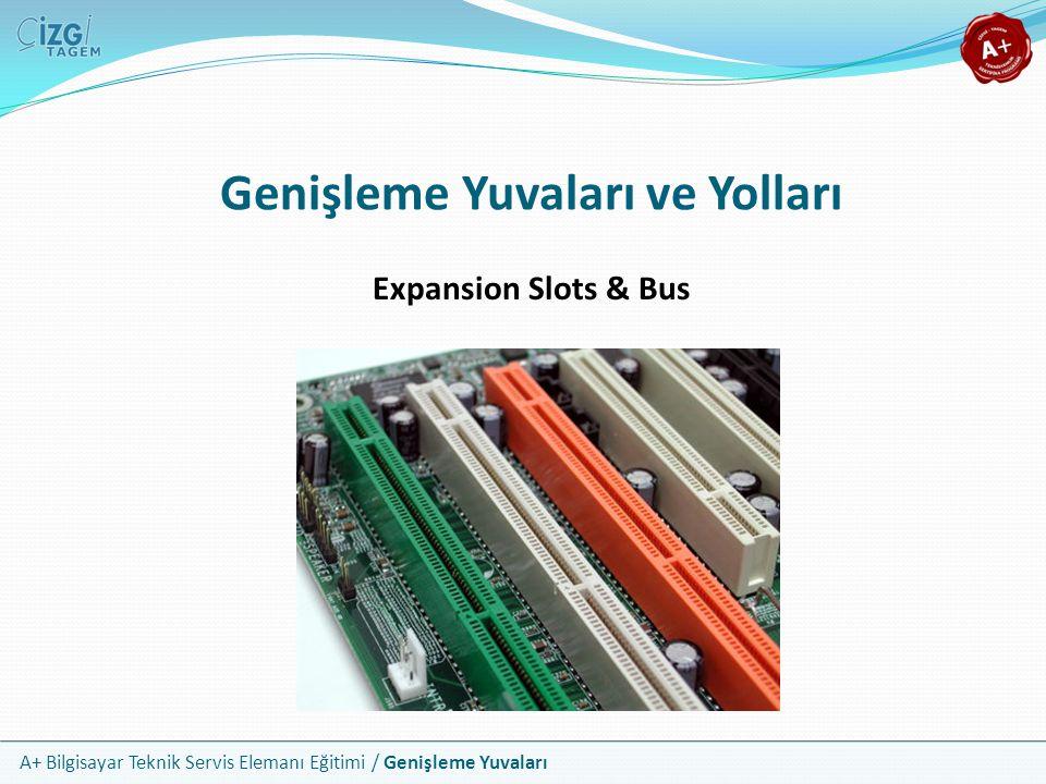 A+ Bilgisayar Teknik Servis Elemanı Eğitimi / Genişleme Yuvaları Expansion Slots & Bus Genişleme Yuvaları ve Yolları