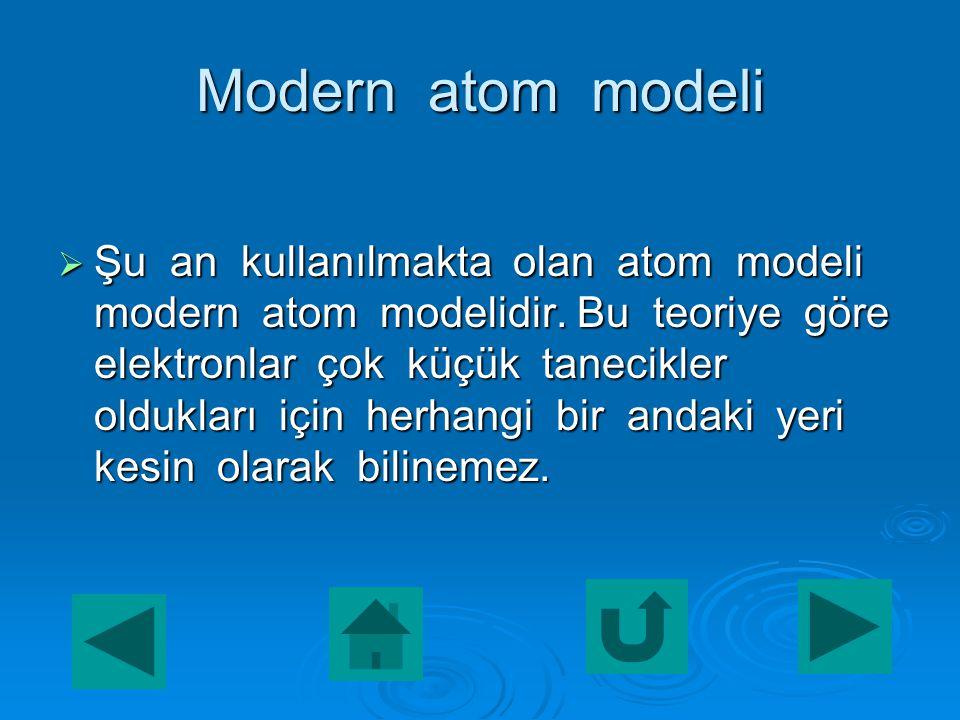  Bir atomun elektronları dışardan enerji alarak yüksek enerji düzeyine yükselirse bu atoma