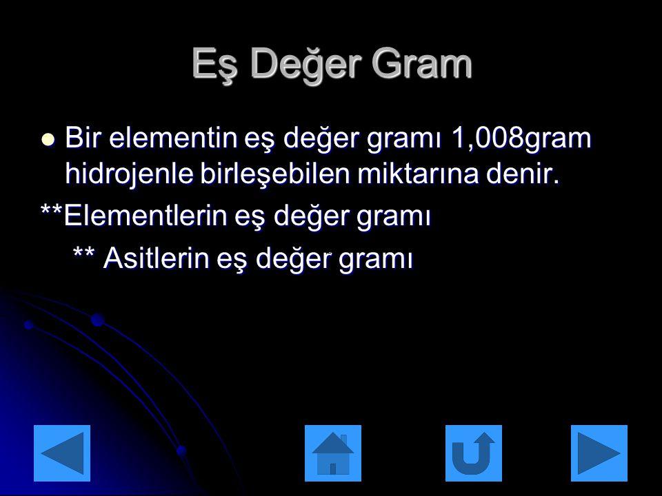 Çözeltilerin Derişimleri Kütlece yüzde(%) derişim bir çözeltinin 100 gramında çözünmüş halde bulunan gram cinsinden madde miktarına denir. Kütlece yüz