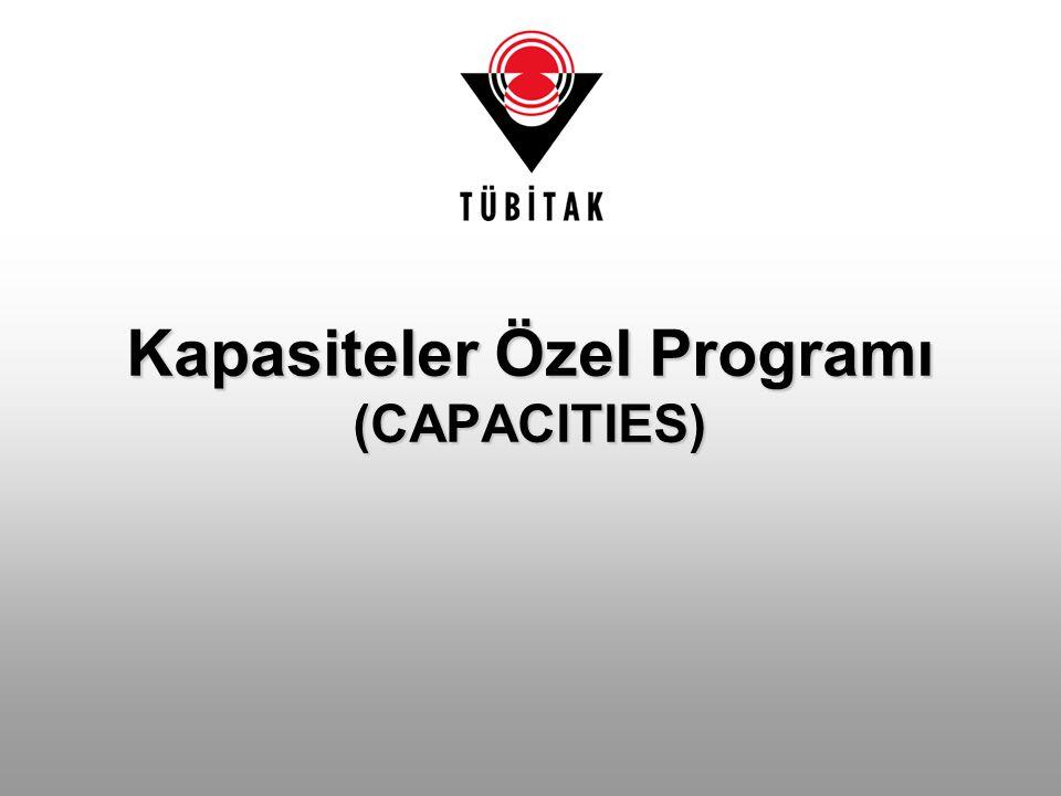 Kapasiteler Özel Programı (CAPACITIES)