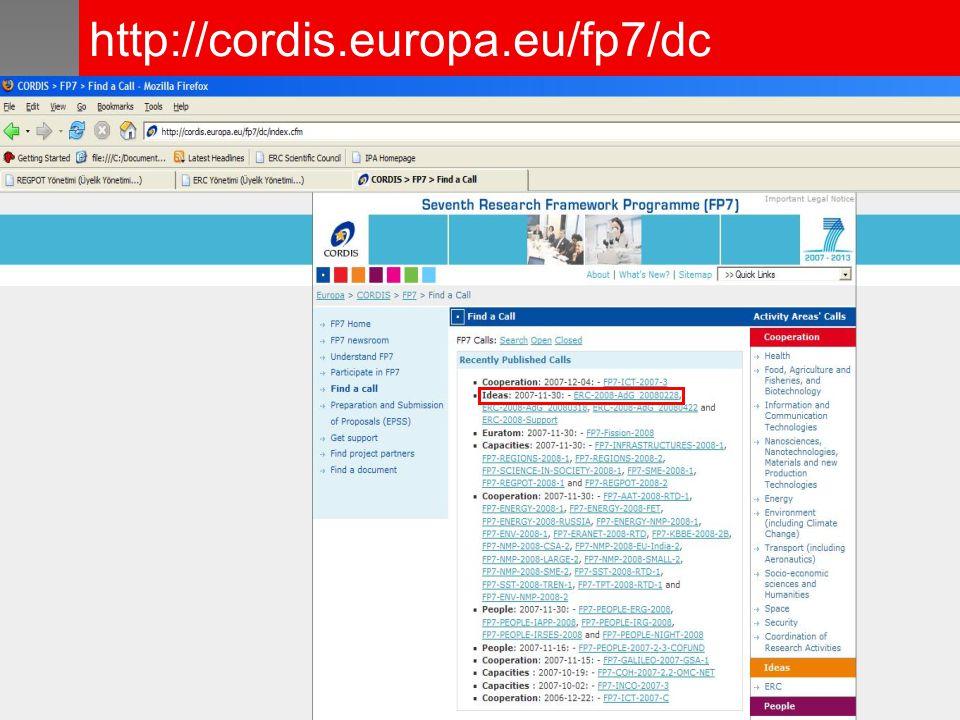 http://cordis.europa.eu/fp7/dc