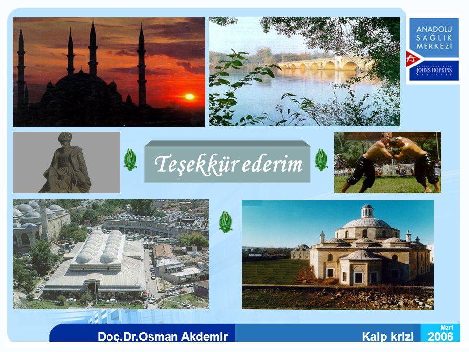 Kalp krizi2006Doç.Dr.Osman Akdemir Mart Teşekkür ederim