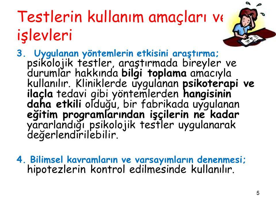 16 Ölçme Hataları ve Güvenirliği Azaltan Faktörler HATA TÜRLERİ 3.