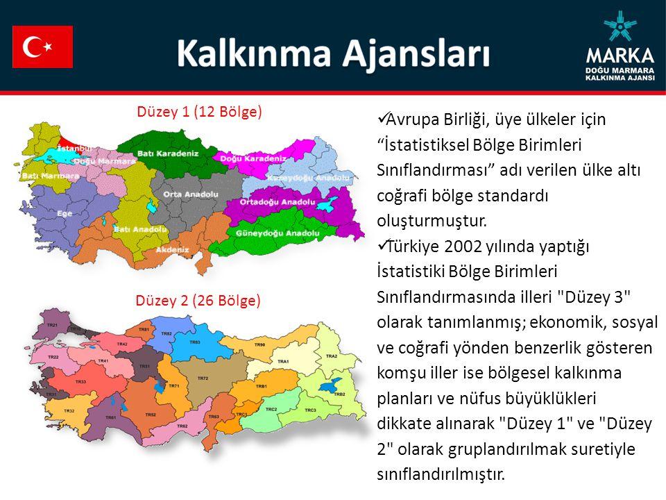 """Avrupa Birliği, üye ülkeler için """"İstatistiksel Bölge Birimleri Sınıflandırması"""" adı verilen ülke altı coğrafi bölge standardı oluşturmuştur. Türkiye"""