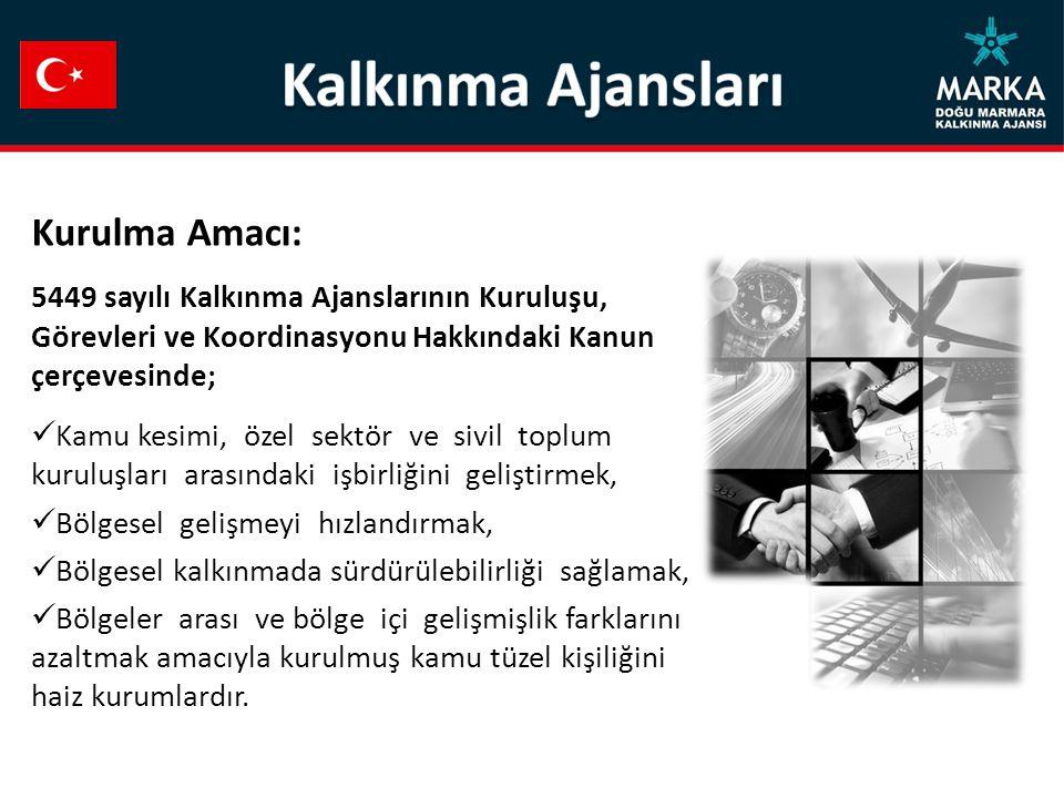 AJANS MERKEZİ T.C.Doğu Marmara Kalkınma Ajansı Genel Sekreterliği Yenişehir Mah.
