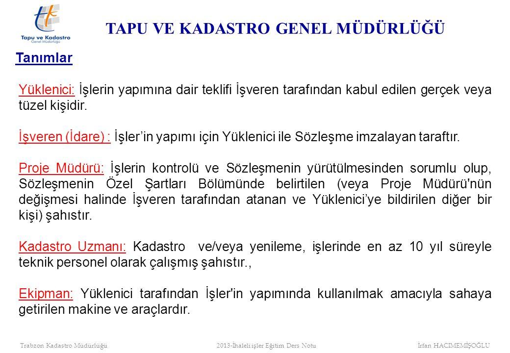 Proje Müdürü Tapu ve Kadastro Bölge Müdürleri Proje Müdürü olarak görevlendirilmiştir.