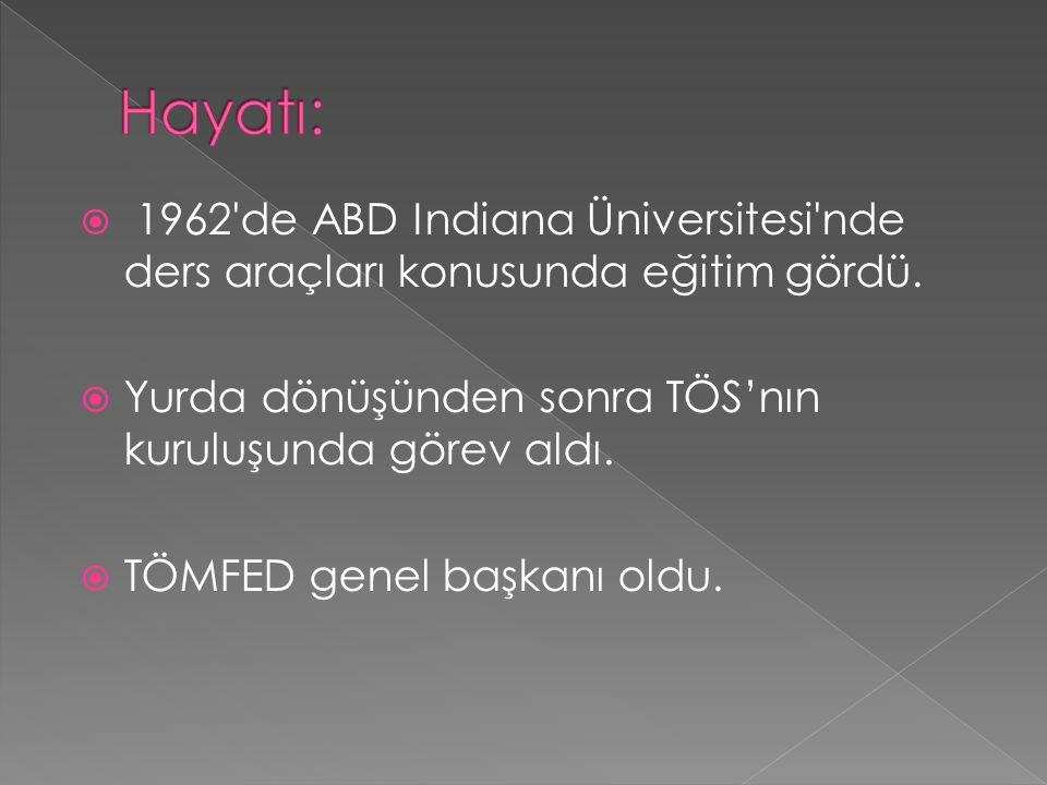 İlk öğretmenler boykotu nedeniyle 1969 da açığa alındı.