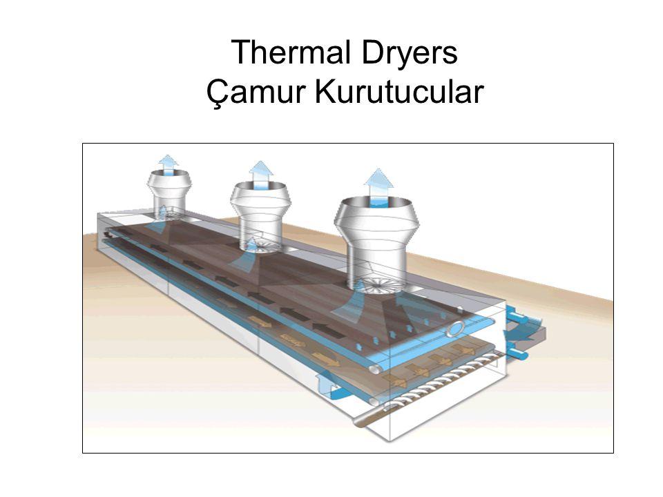 Thermal Dryers Çamur Kurutucular