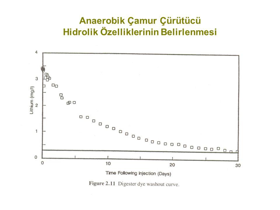 Anaerobik Çamur Çürütücü Hidrolik Özelliklerinin Belirlenmesi