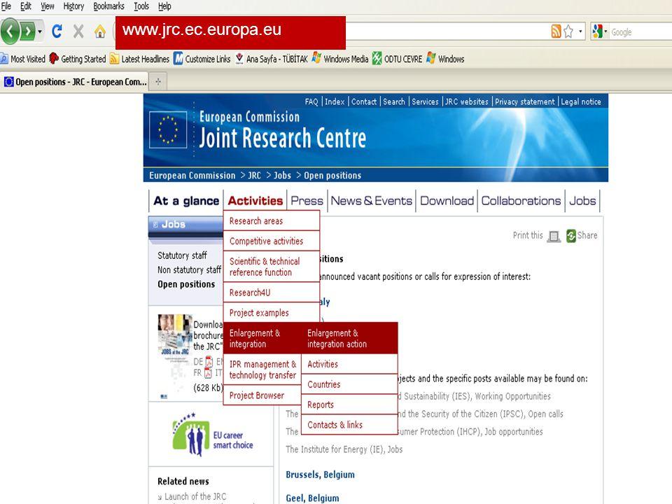 TÜBİTAK 21 www.jrc.ec.europa.eu