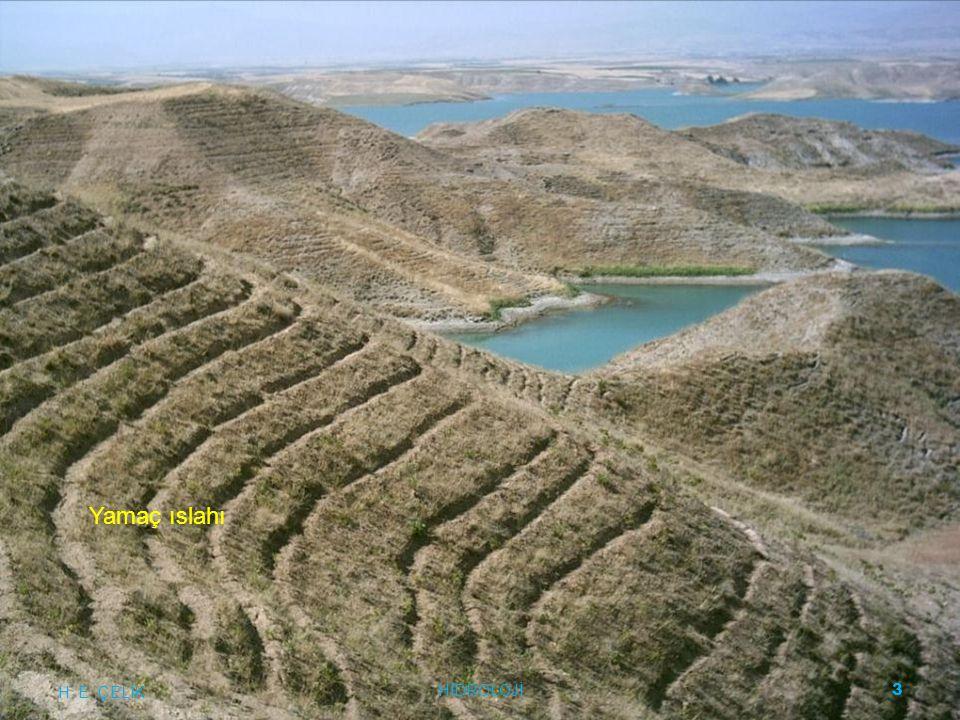 Sentetik Birim Hidrograf 10/78,81 =0,016 L: Ana kanalın boyu (km) Lc: Alanın ağırlık merkezinin kanal üzerindeki izdüşümü ile kanalın alanı terk ettiği nokta arasındaki mesafe (km) L= 6,49 km Lc= 2,32 km H.