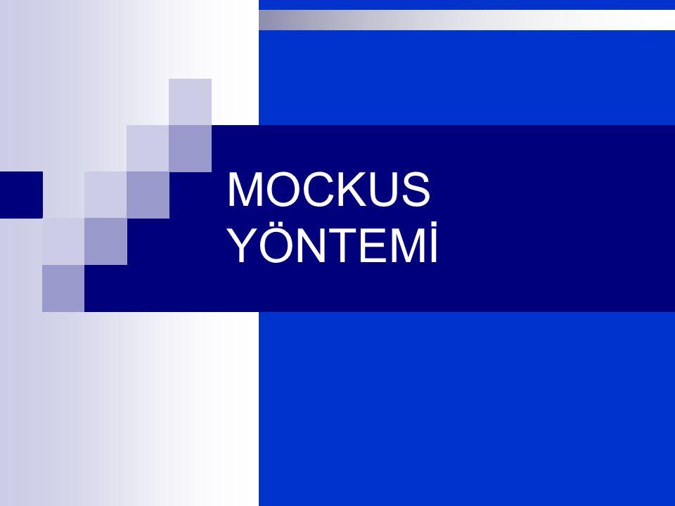MOCKUS YÖNTEMİ