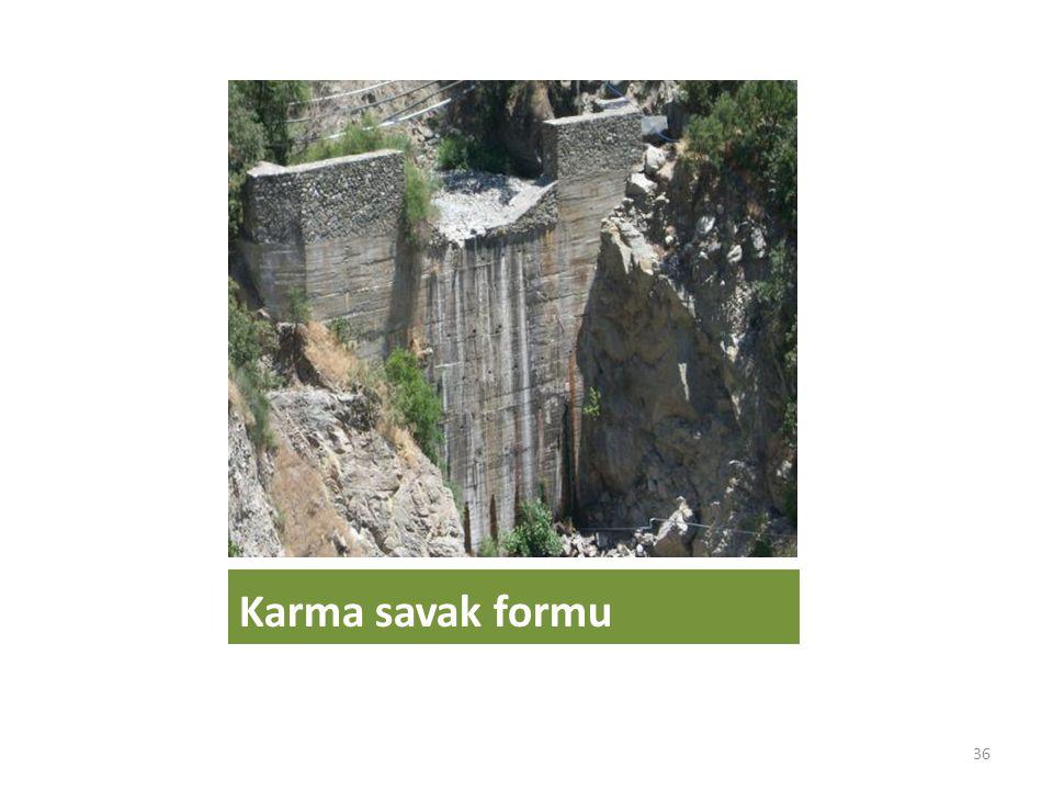 Karma savak formu 36