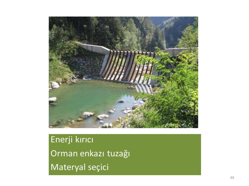Enerji kırıcı Orman enkazı tuzağı Materyal seçici 46