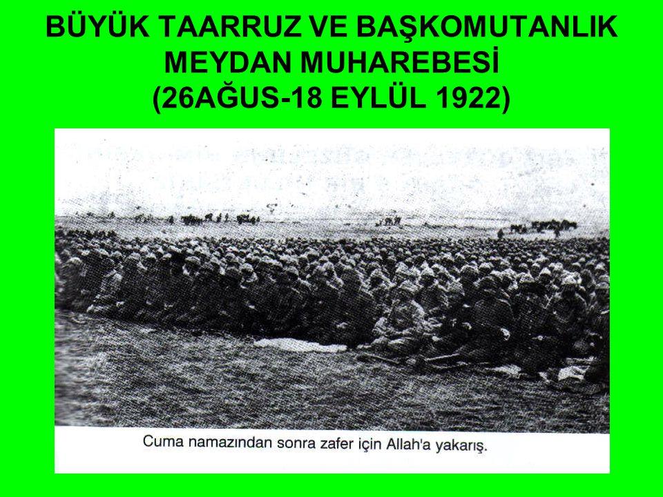 ANKARA ANTLAŞMASI Hatay dışında Suriye sınırı çizildi. Fransa yeni Türk Devleti'ni resmen tanıdı. Fransızlar Misak-ı Milliyi tanıyan ilk İtilaf Devlet
