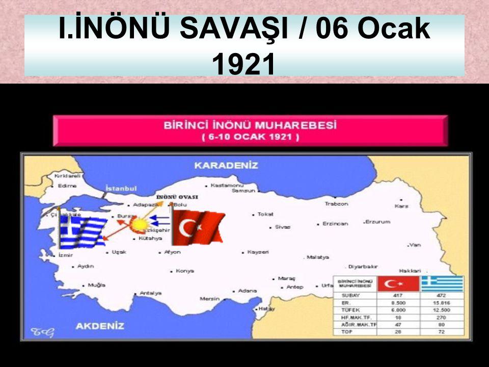 Yunan Saldırısının Amaçları TBMM'ye, Sevr Antlaşması'nı kabul ettirmek ve yeni topraklar kazanmak, Çerkez Ethem isyanı'ndan faydalanmak, düzenli orduy