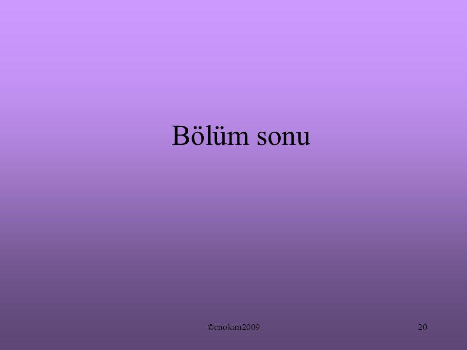 ©cnokan200920 Bölüm sonu