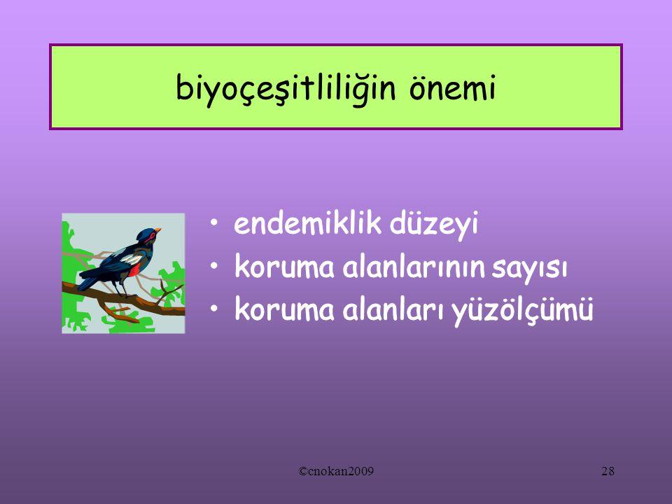 biyoçeşitliliğin önemi ©cnokan200928