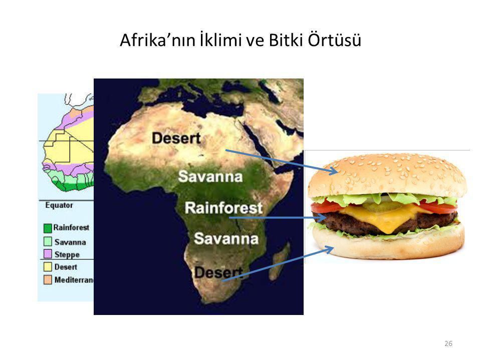 Afrika'nın İklimi ve Bitki Örtüsü 26