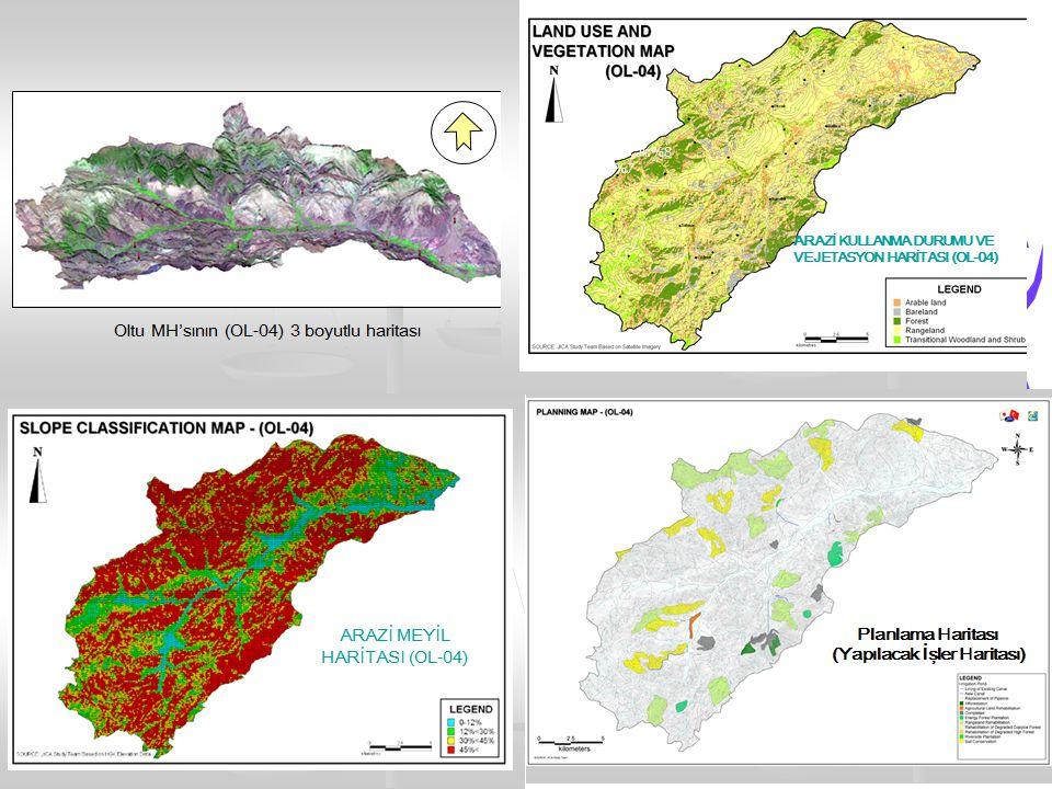 Oltu Mikrohavzası Doğal Kaynak Rehabilitasyonu ve Yönetimi FaaliyetMiktar(ha)Maliyet (Milliyon YTL) Toprak Muhafaza 2.1012,583 Ağaçlandırma243409 Enerji Ormanı Ağaç.