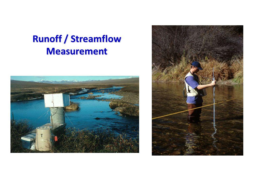 Runoff / Streamflow Measurement
