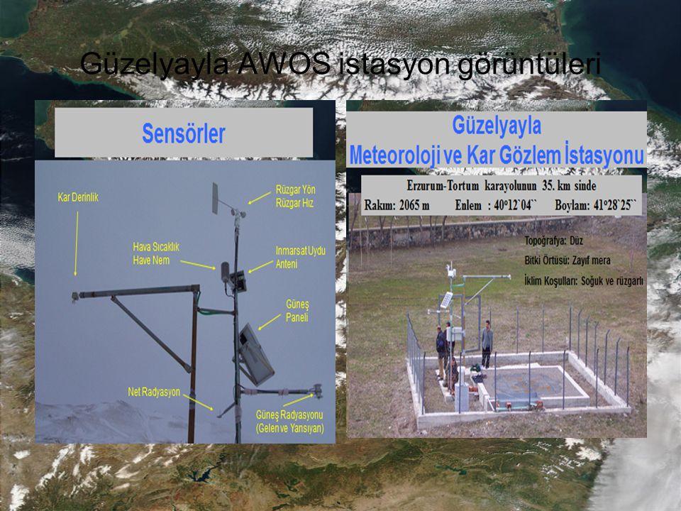 Güzelyayla AWOS istasyon görüntüleri