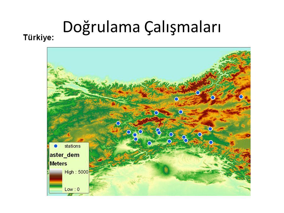 20 Mart 2010 MODIS (Harmanlanmış) 14 Nisan 2010 MODIS (Harmanlanmış)
