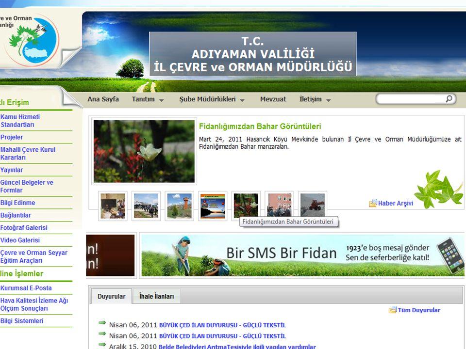 ………… Valiliği İl Çevre ve Orman Müdürlüğü 7 Gaziantep