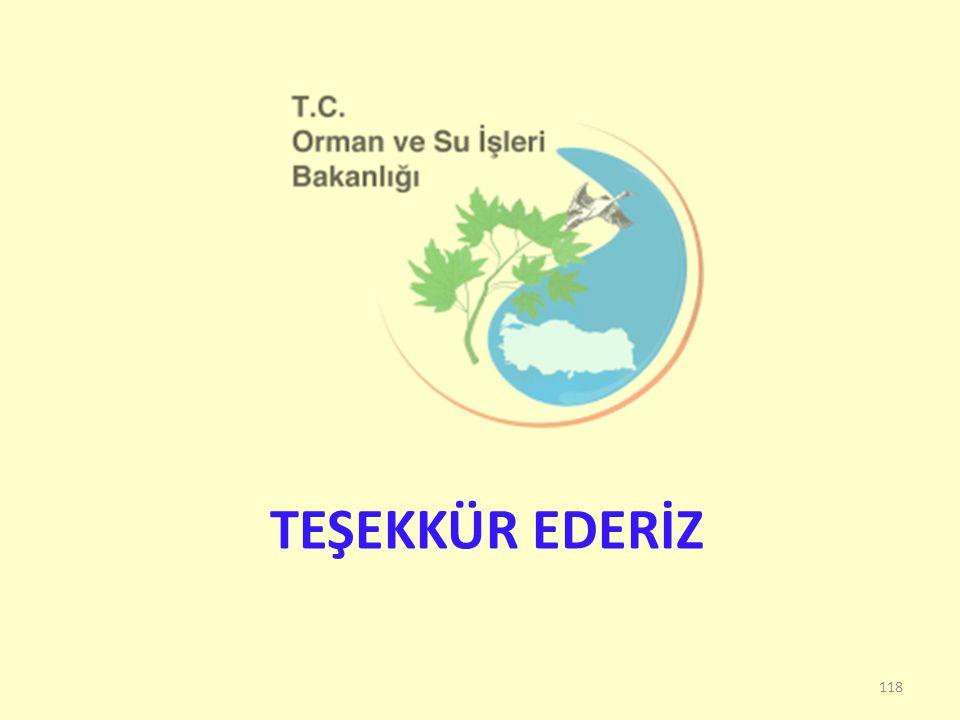 TEŞEKKÜR EDERİZ 118