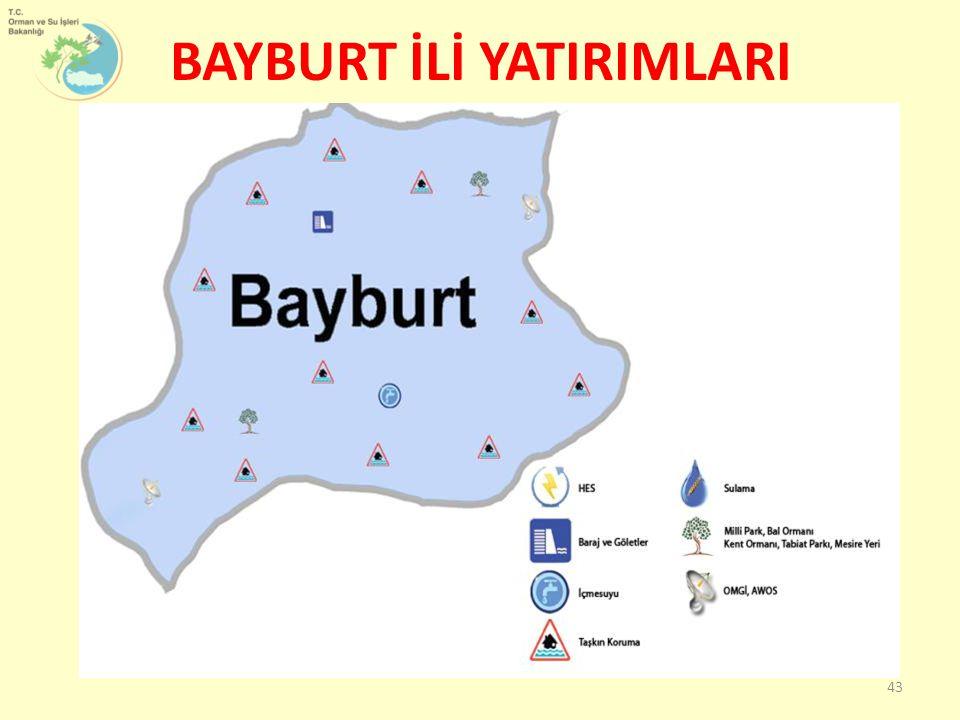 BAYBURT İLİ YATIRIMLARI 43