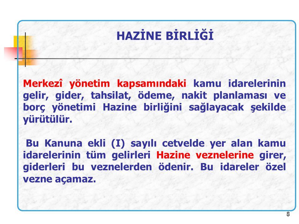 19 ÜST YÖNETİCİ Bakanlıklarda müsteşar, diğer kamu idarelerinde en üst yönetici, il özel idarelerinde vali ve belediyelerde belediye başkanı üst yöneticidir.