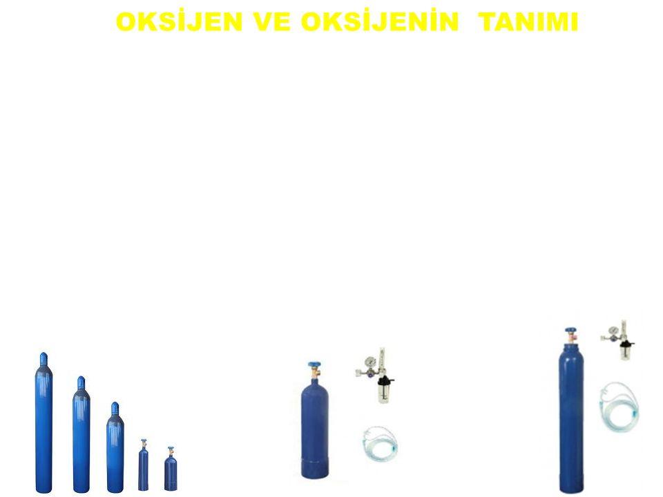 Oksijen kendisi yanmayan fakat yanmayı gerçekleştiren yakıcı, renksiz, kokusuz ve tatsız bir gazdır. Havada % 21 oranında oksijen bulunur. Ortamdaki o