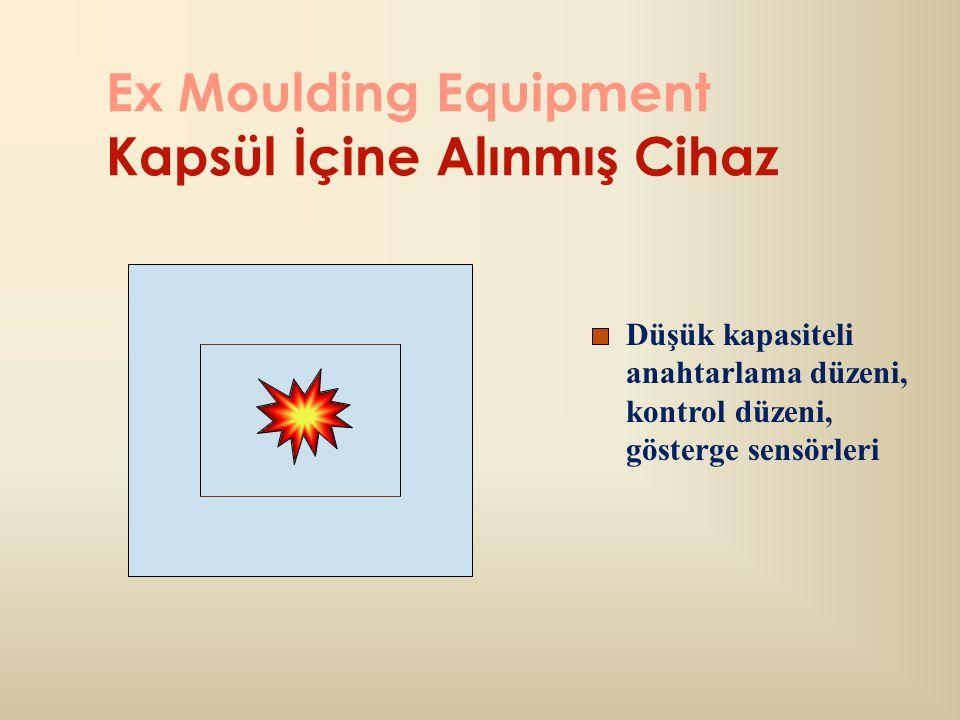 Ex Moulding Equipment Kapsül İçine Alınmış Cihaz Düşük kapasiteli anahtarlama düzeni, kontrol düzeni, gösterge sensörleri