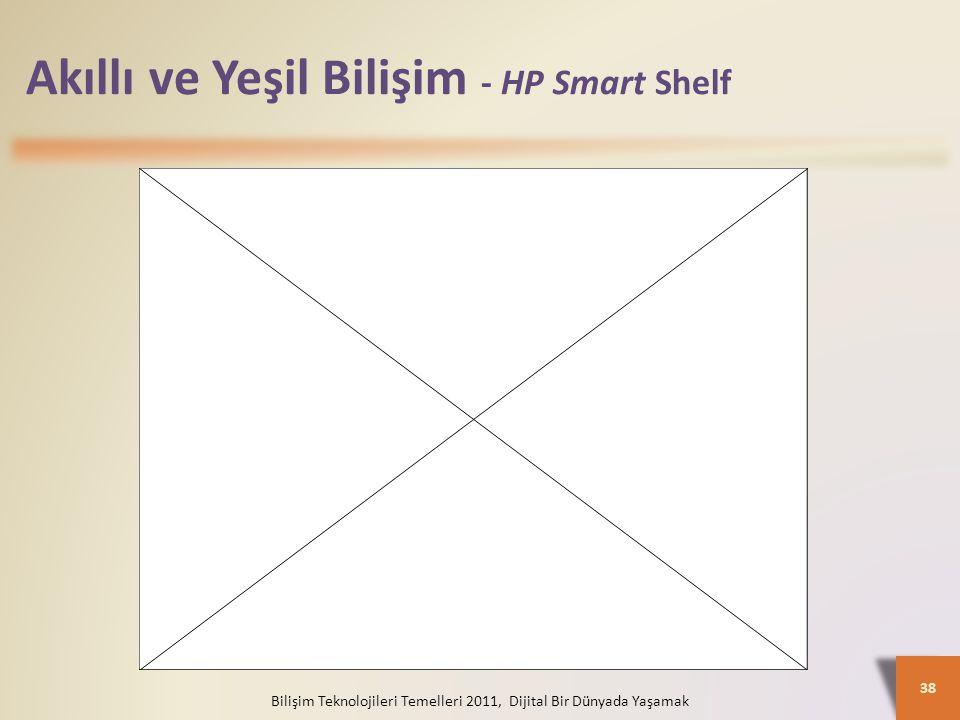 Akıllı ve Yeşil Bilişim - HP Smart Shelf Bilişim Teknolojileri Temelleri 2011, Dijital Bir Dünyada Yaşamak 38