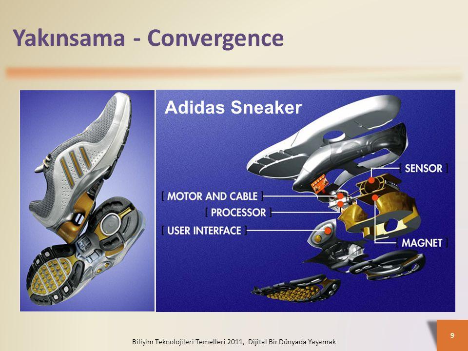 Yakınsama - Convergence Bilişim Teknolojileri Temelleri 2011, Dijital Bir Dünyada Yaşamak 9 Adidas Sneaker