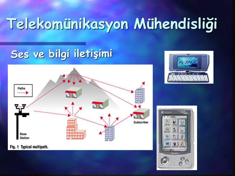 Telekomünikasyon Mühendisliği Ses ve bilgi iletişimi