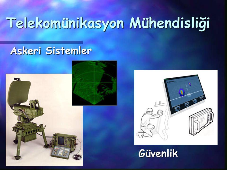 Telekomünikasyon Mühendisliği Askeri Sistemler Güvenlik