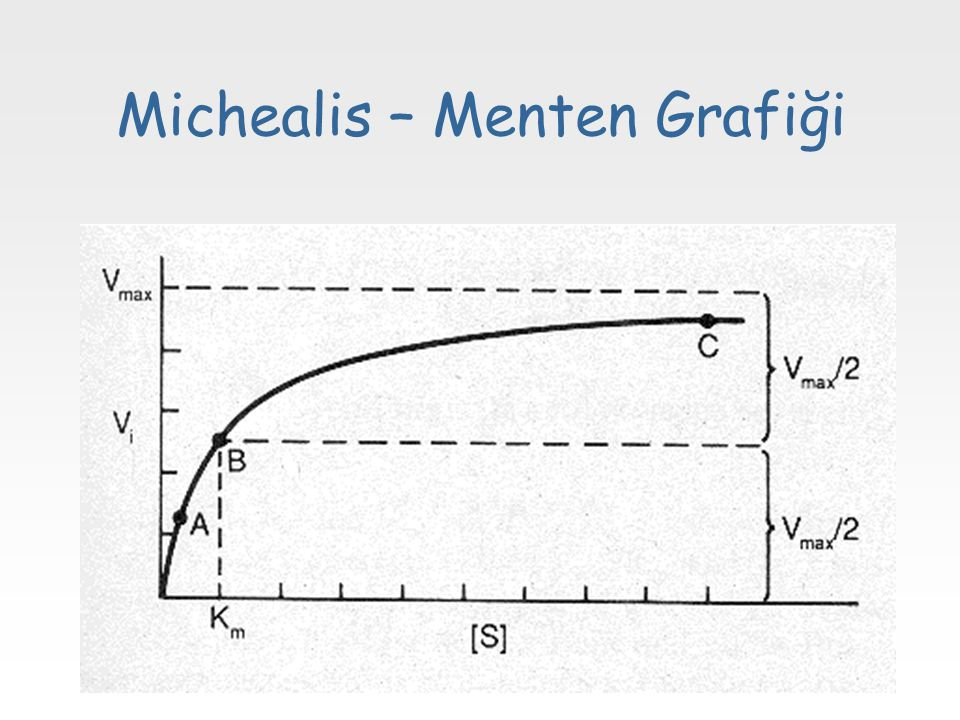 Michealis – Menten Grafiği