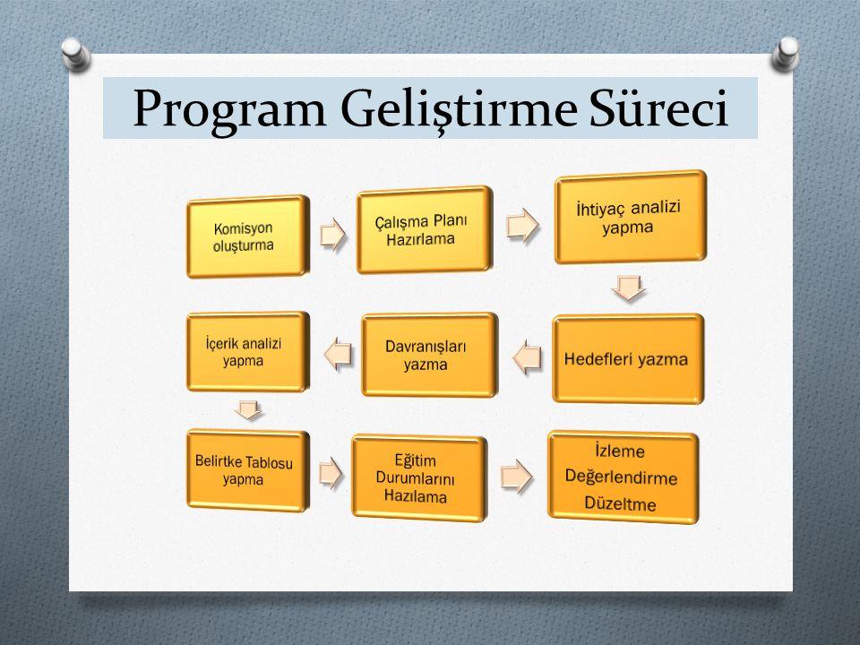 Program Geliştirme Süreci