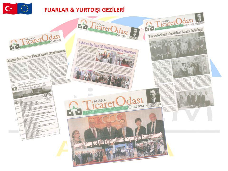 FUARLAR & YURTDIŞI GEZİLERİ
