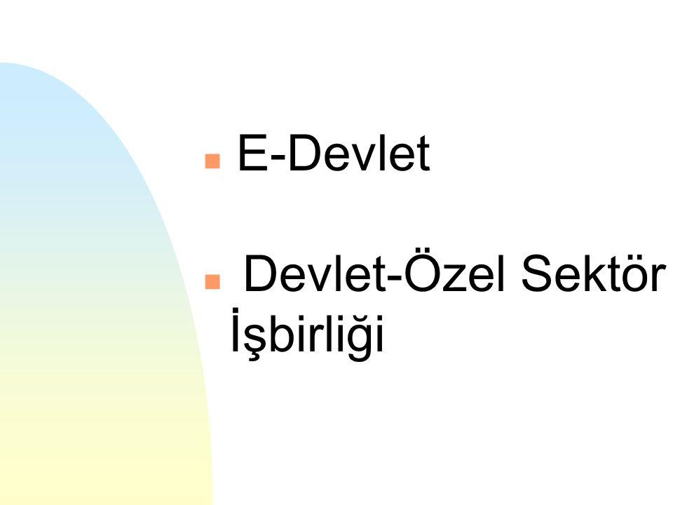 Bunu sağlamak için önerimiz: eTR: elektronik Türkiye Kamu kurumları, özel sektör ve sivil toplum örgütleri arası bütünleşme ve işbirliğinin sağlanması sonucu ulusal bir e-iş yapış altyapısının kurulması