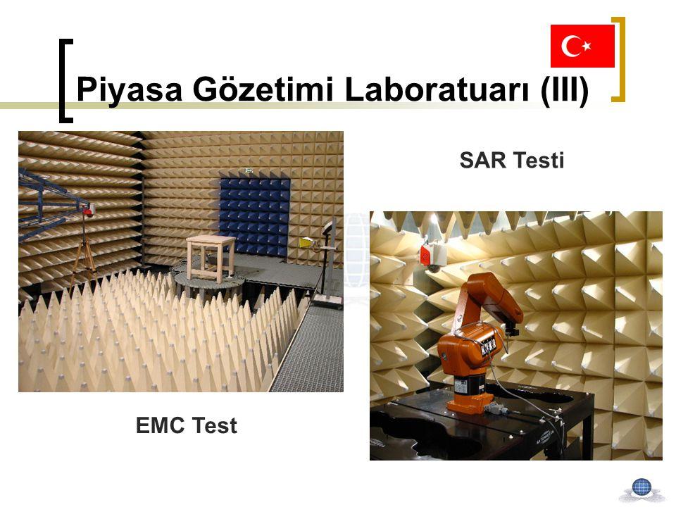Piyasa Gözetimi Laboratuarı (III) SAR Testi EMC Test