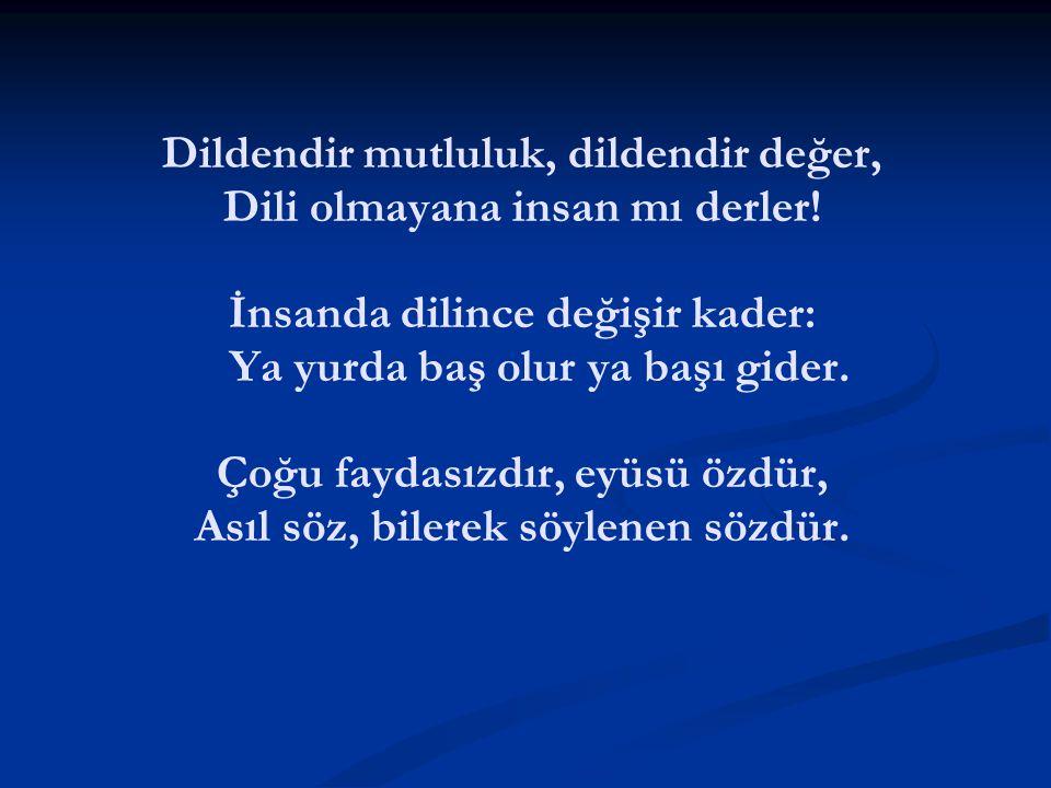 Yerinde söz söylemesini bilen, özür dilemek zorunda kalmaz. Fatih Sultan Mehmet