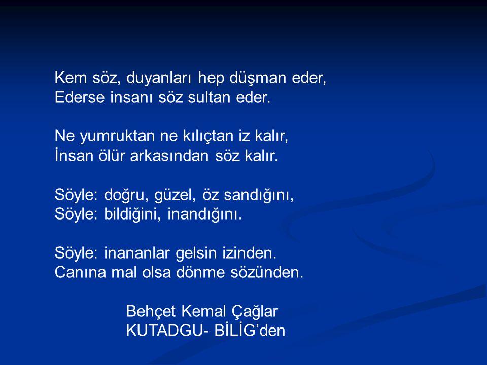 Türkçe, yazıldığı gibi konuşulan bir dil değildir.