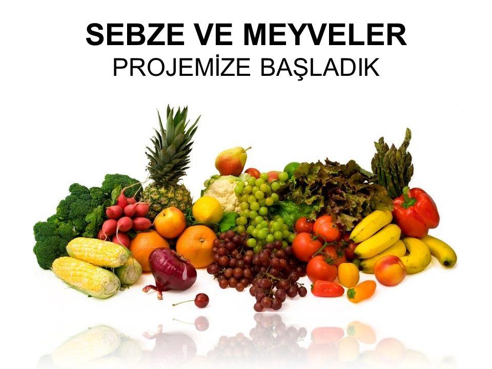 Sebze-meyvelerle ilgili neler bildiğimizi ve neleri merak ettiğimizi belirledik.