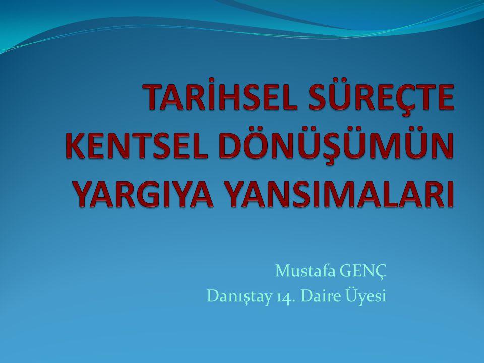 Mustafa GENÇ Danıştay 14. Daire Üyesi